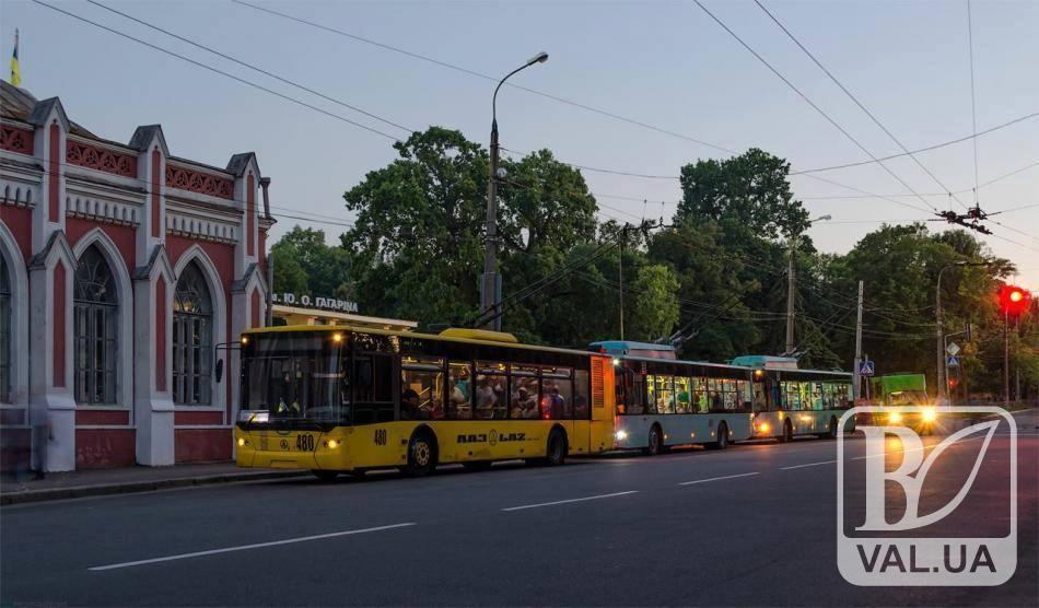На розвиток електротранспорту Чернігова витратять більше 600 мільйонів гривень
