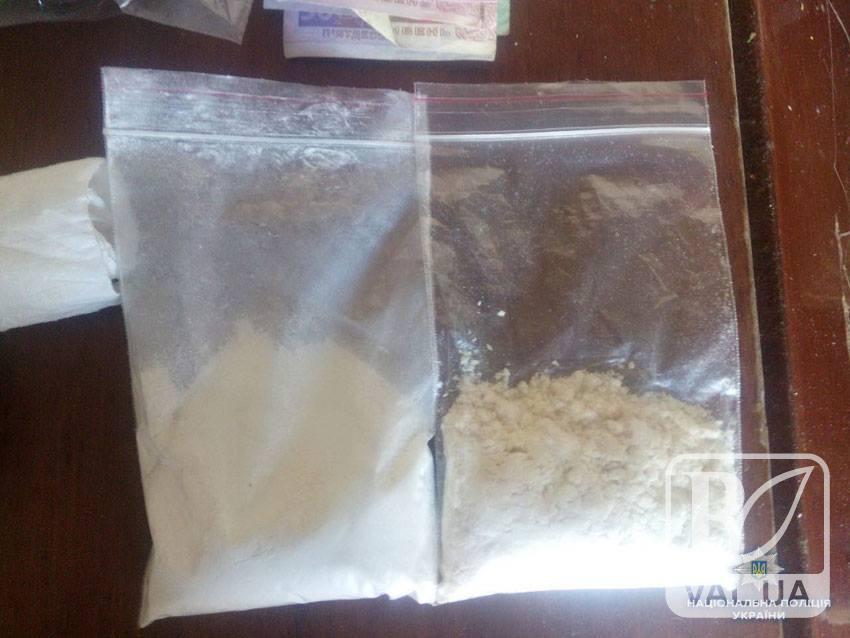 У чернігівського дилера вилучили наркотиків майже на мільйон гривень. ФОТО