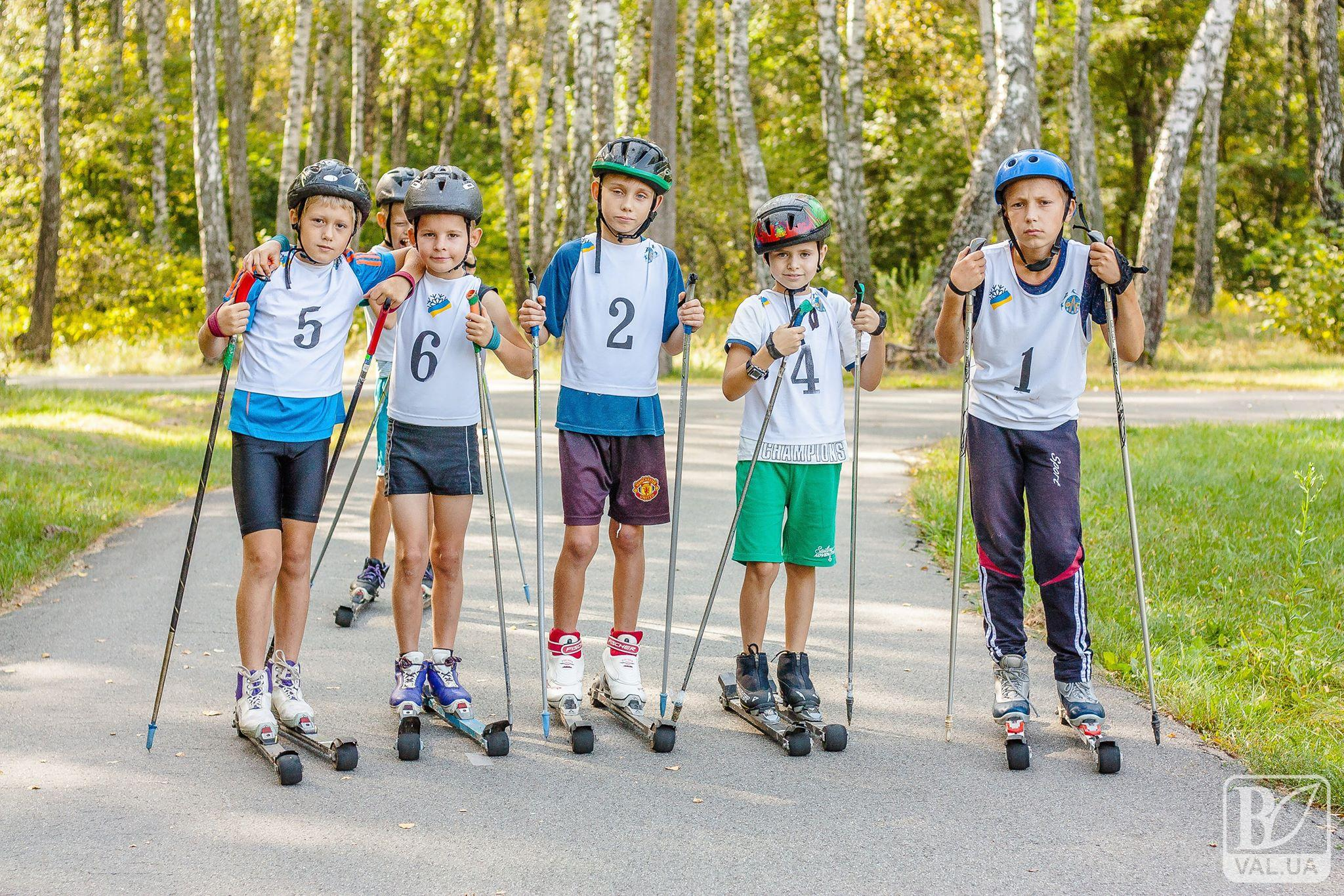 У Чернігові відбувся чемпіонат області з лижоролерів. ФОТОрепортаж