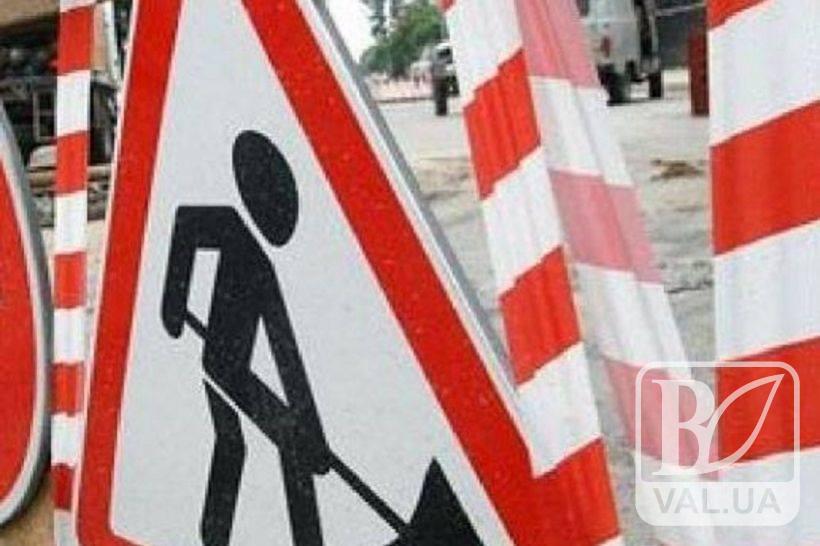 У Чернігові знову перекриття доріг: 17 вересня - на П`ятикутах, а 18-19 вересня – на перехресті двох проспектів