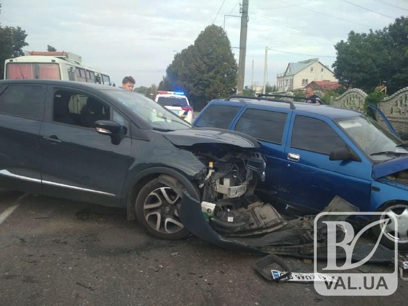 У ДТП в Олександрівці постраждала пасажирка ВАЗу