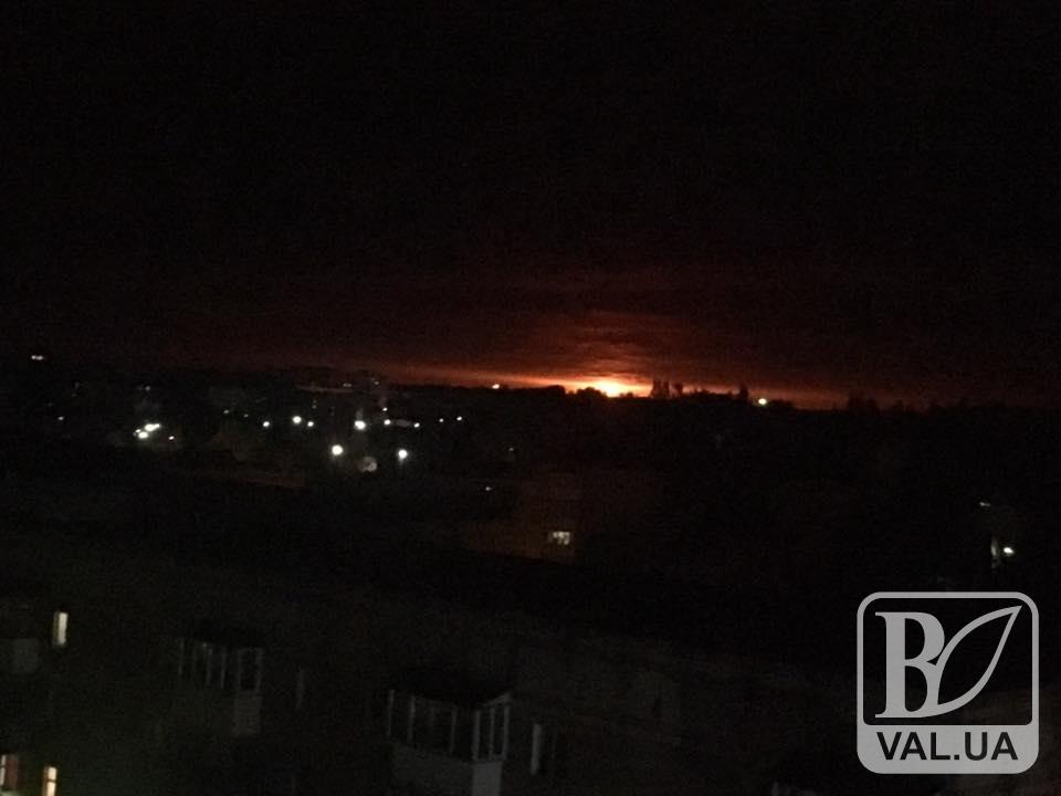 На Чернігівщині у зв'язку з вибухом на 6-му Арсеналі введені обмежувальні заходи