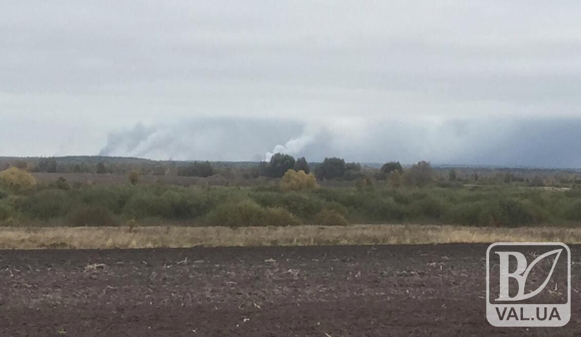 Через вибух боєприпасів згорів молочний завод та зерносушарка