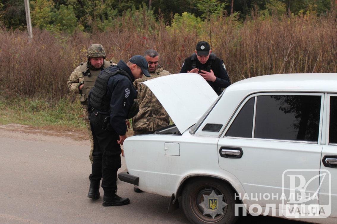 Поліція не допустила фактів мародерства в евакуйованих селах Ічнянського району