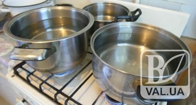 У Чернігові сім будинків у середмісті на дві доби залишаться без гарячої води