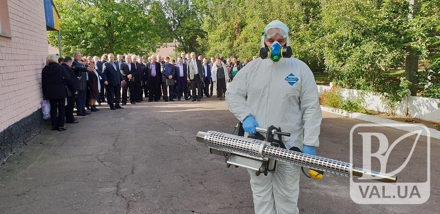 Чернігівська ветлікарня закупила надсучасне обладнання для дезінфекції