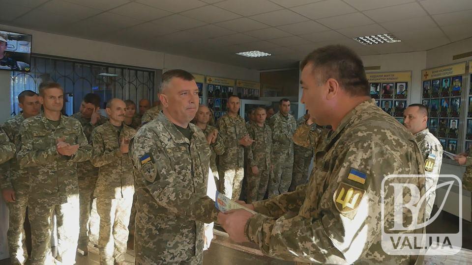 В обласному військкоматі відзначили День захисника України. ВІДЕО