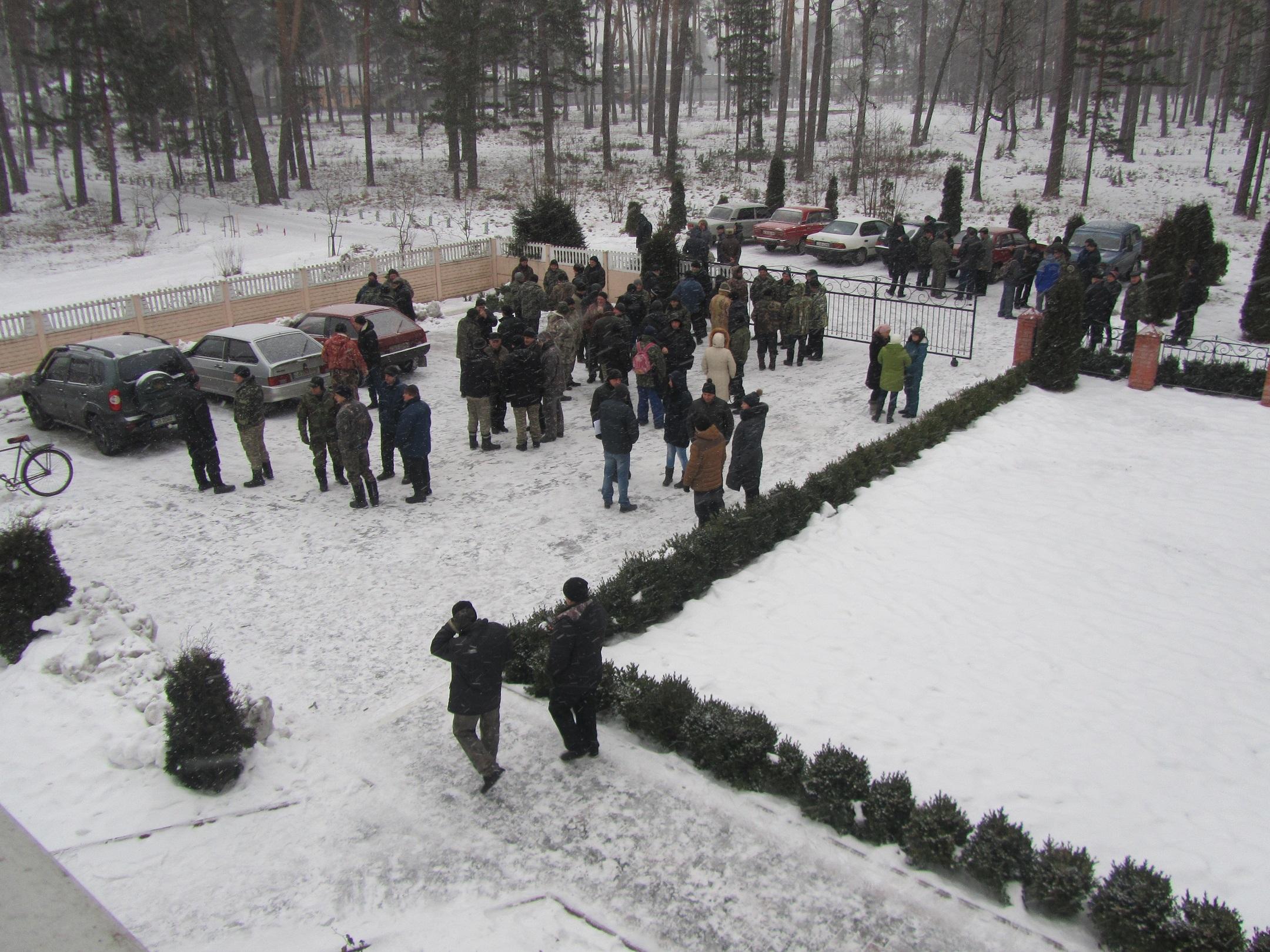 Корюківський лісгосп знову страйкує. ФОТО