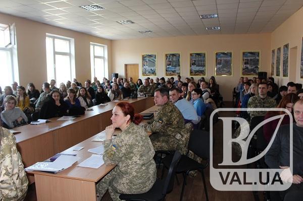На Чернігівщині до призову готуються з психологами