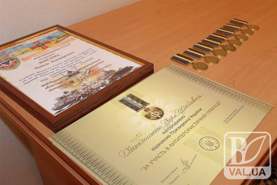 Правнука Коцюбинського Президент нагородив за участь в АТО