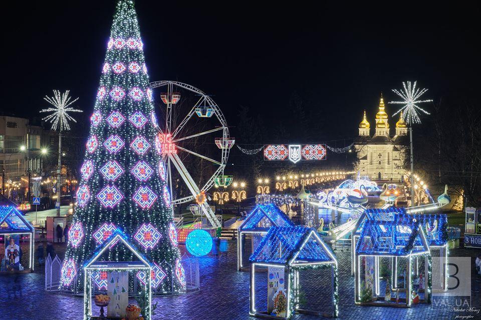 Що чекає чернігівців в новорічну ніч на Красній площі: «розклад» розваг