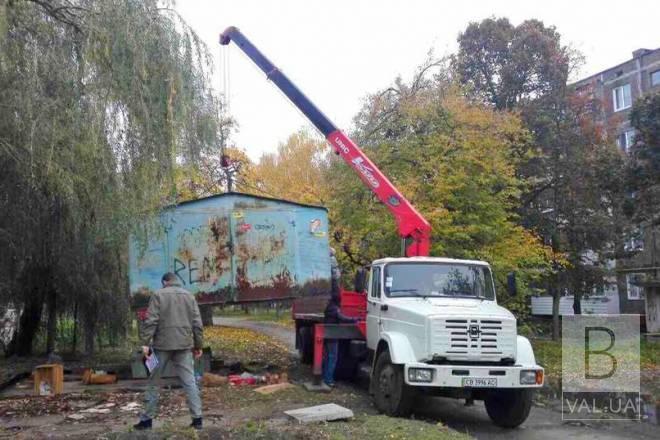 У Чернігові створили комісію з демонтажу незаконно розміщених об'єктів