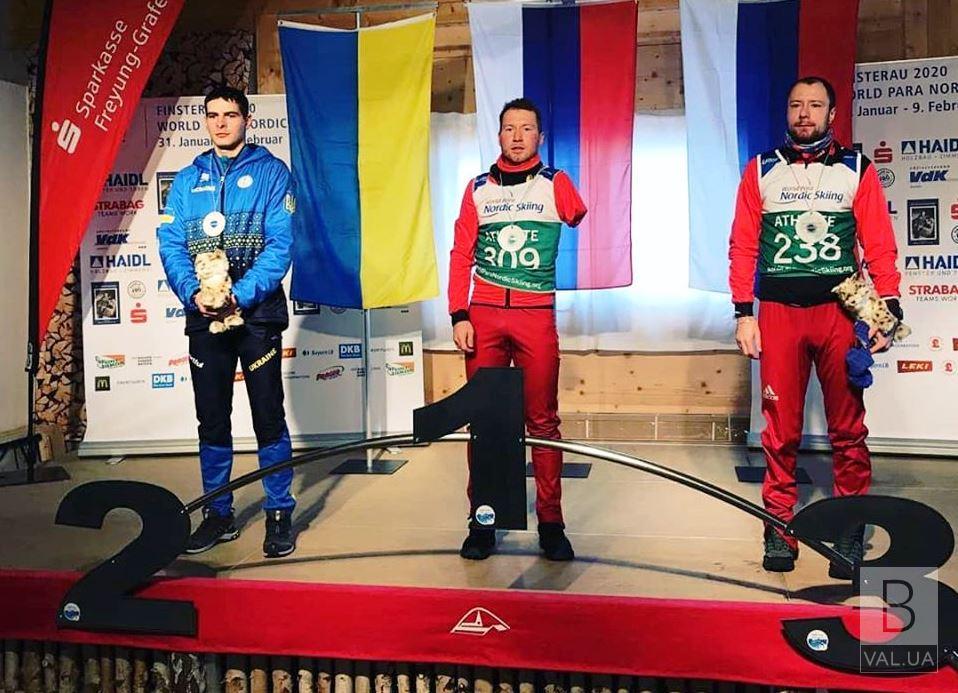 Чернігівець Ігор Рептюх виборов два «срібла» на третьому етапі Кубка світу