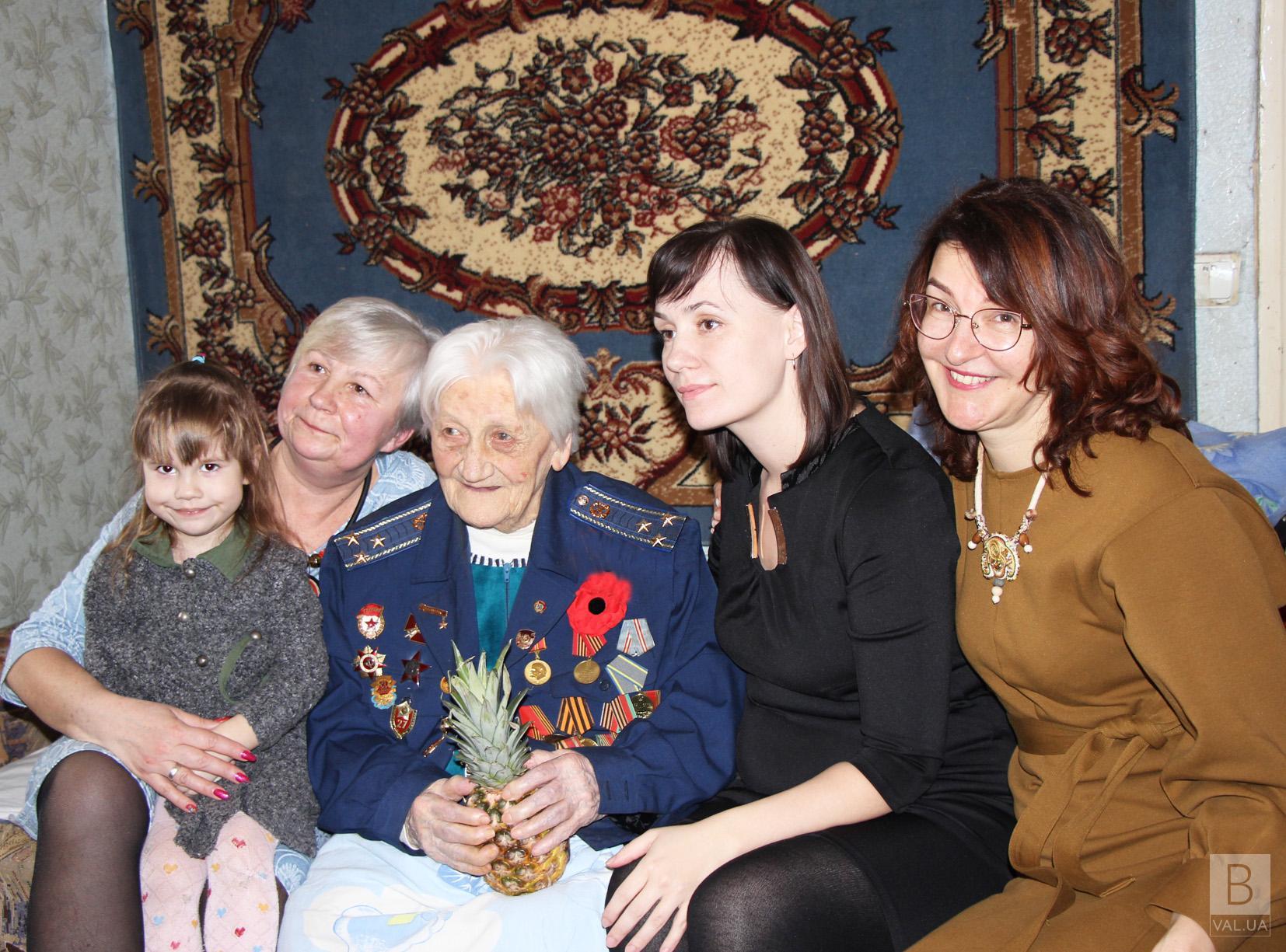 100-літній ювілей зустріла жителька Чернігівщини. ФОТО