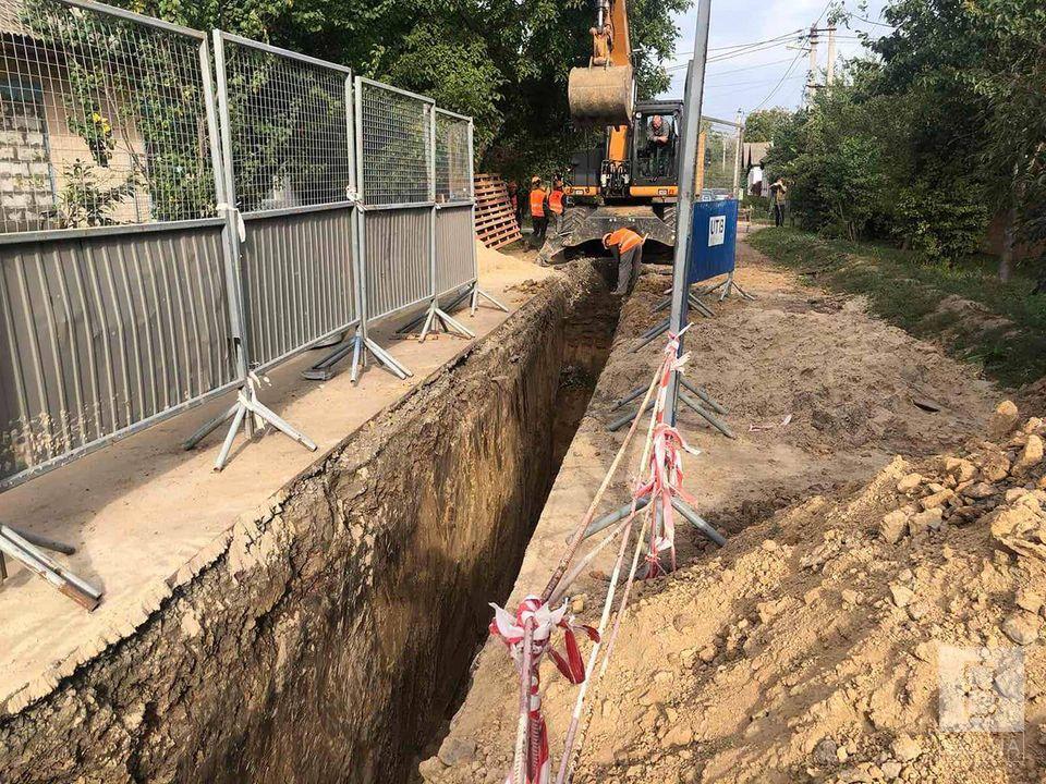 На Бобровиці будують каналізацію за понад вісім мільйонів гривень