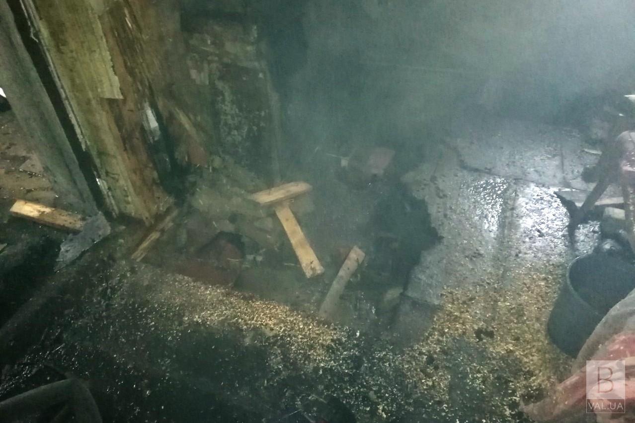 На Прилуччині під час пожежі загинув 60-річний чоловік