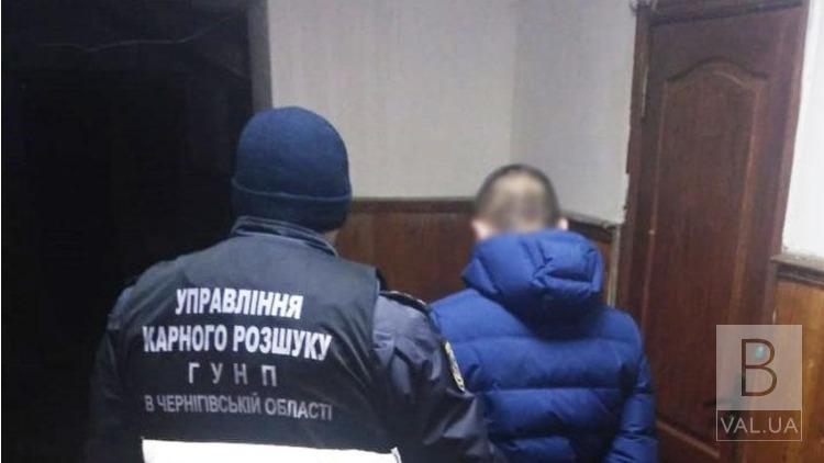 На Чернігівщині затримали чоловіка, якого підозрюють у зґвалтуванні неповнолітньої дівчинки