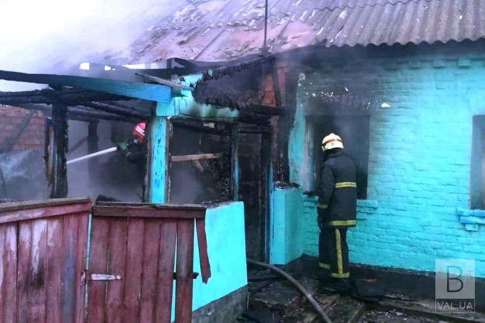 На Чернігівщині у вогні загинули мати і донька