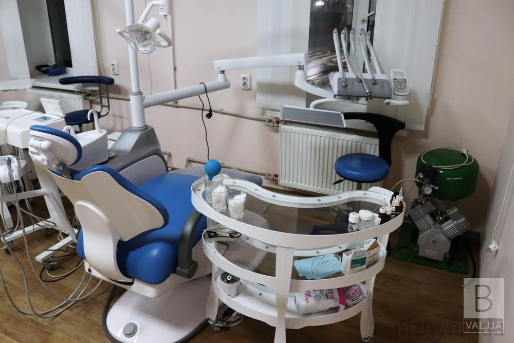 Ніжинська стоматполіклініка отримала нове обладнання
