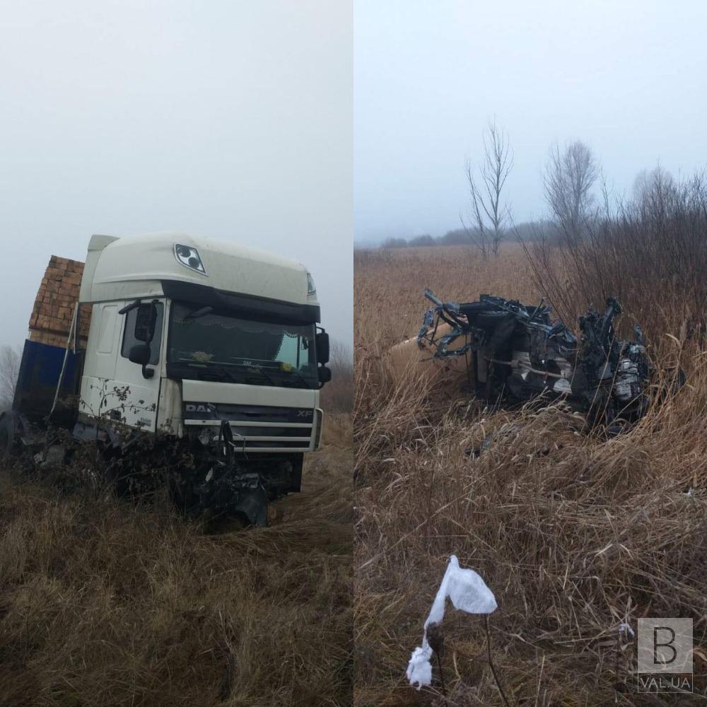 У смертельній ДТП на Чернігівщині загинув літній чоловік та 12-річна дівчинка. ФОТО
