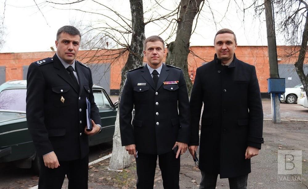 У Ніжинському відділі поліції новий керівник