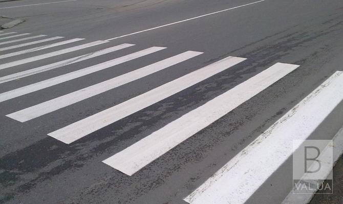 У Чернігові облаштують ще два пішохідні переходи