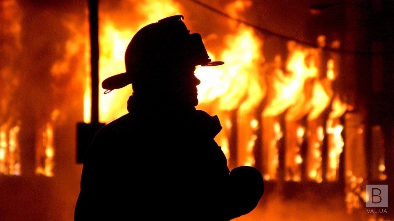 В Куликівському районі згоріла їдальня