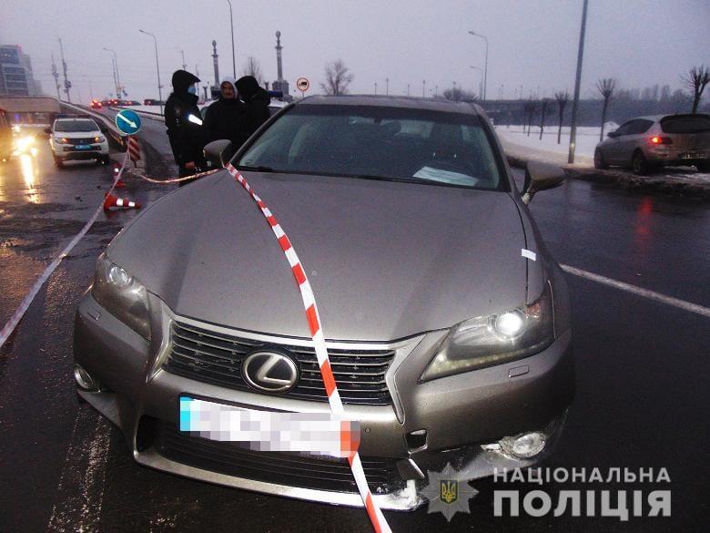 30-річний чоловік з Чернігівщині угнав «Лексус» в Києві. ФОТО