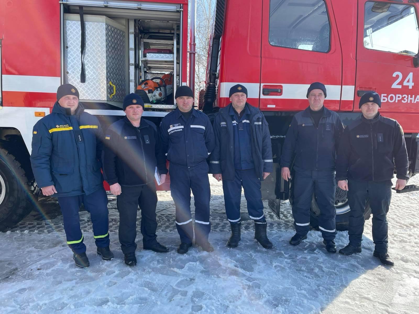 Рятувальники Борзнянщини отримали нову техніку. ФОТО