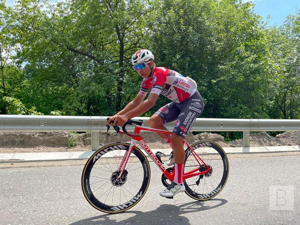 Чернігівець Андрій Пономар – чемпіон України з велоспорту на шосе