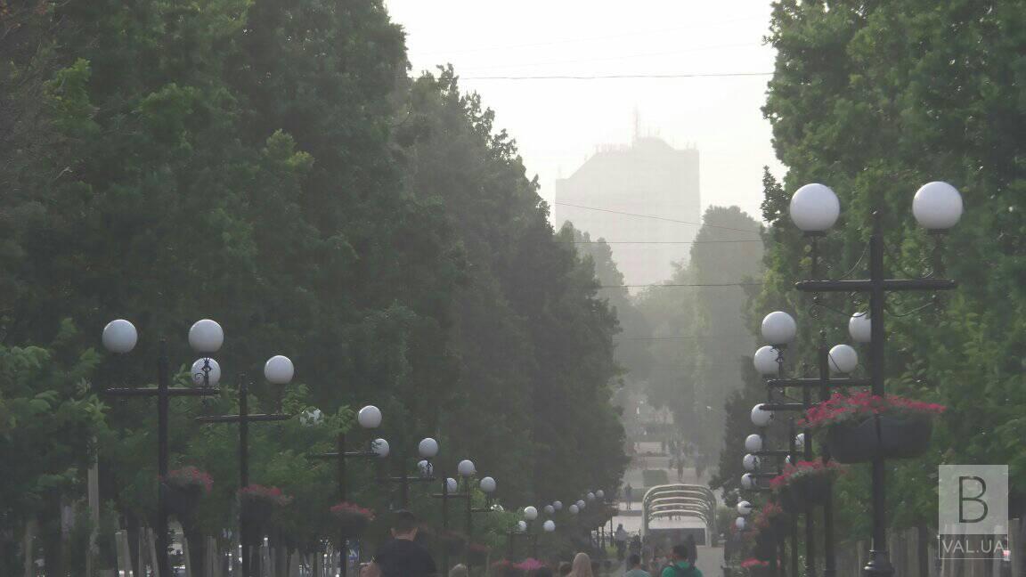 Піщана буря, що накрила Чернігівщину, може повернутися. ФОТО