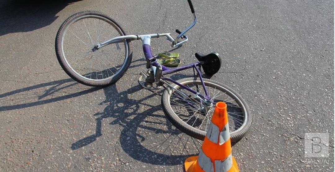 На Чернігівщині у ДТП постраждав велосипедист