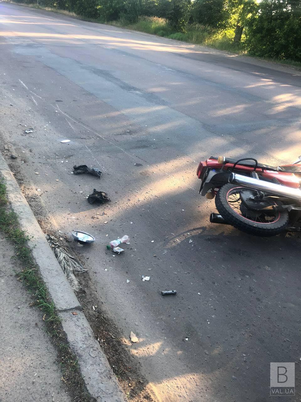 На Ціалковського у ДТП постраждав водій «Яви»