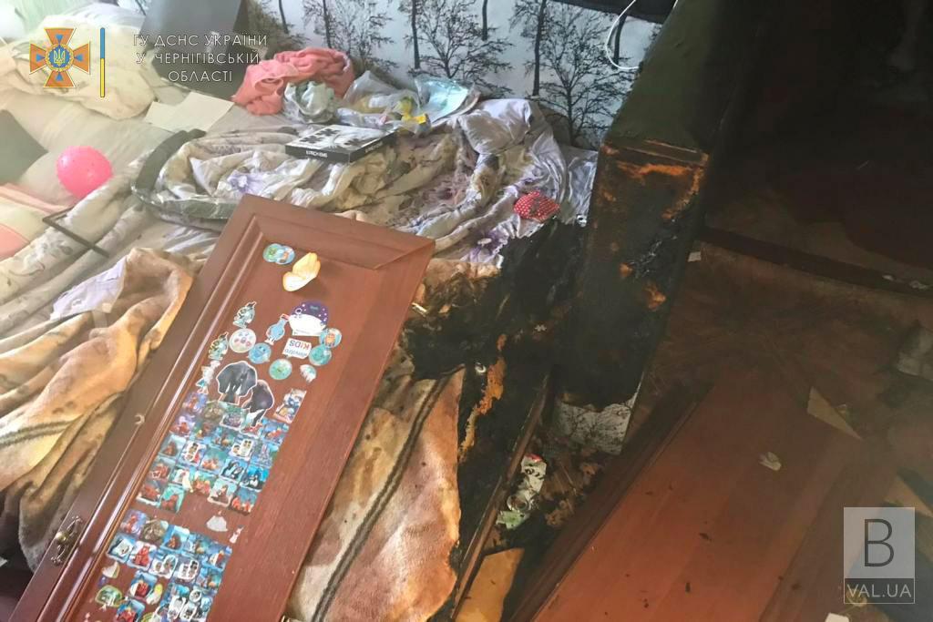 Коротке замикання та підпал: у Чернігові горіли дві квартири