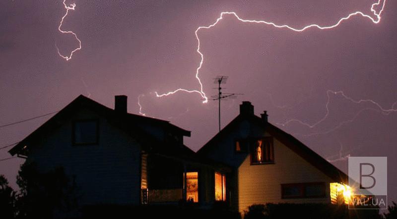 У Березанці блискавка потрапила в будинок: згорів електролічильник