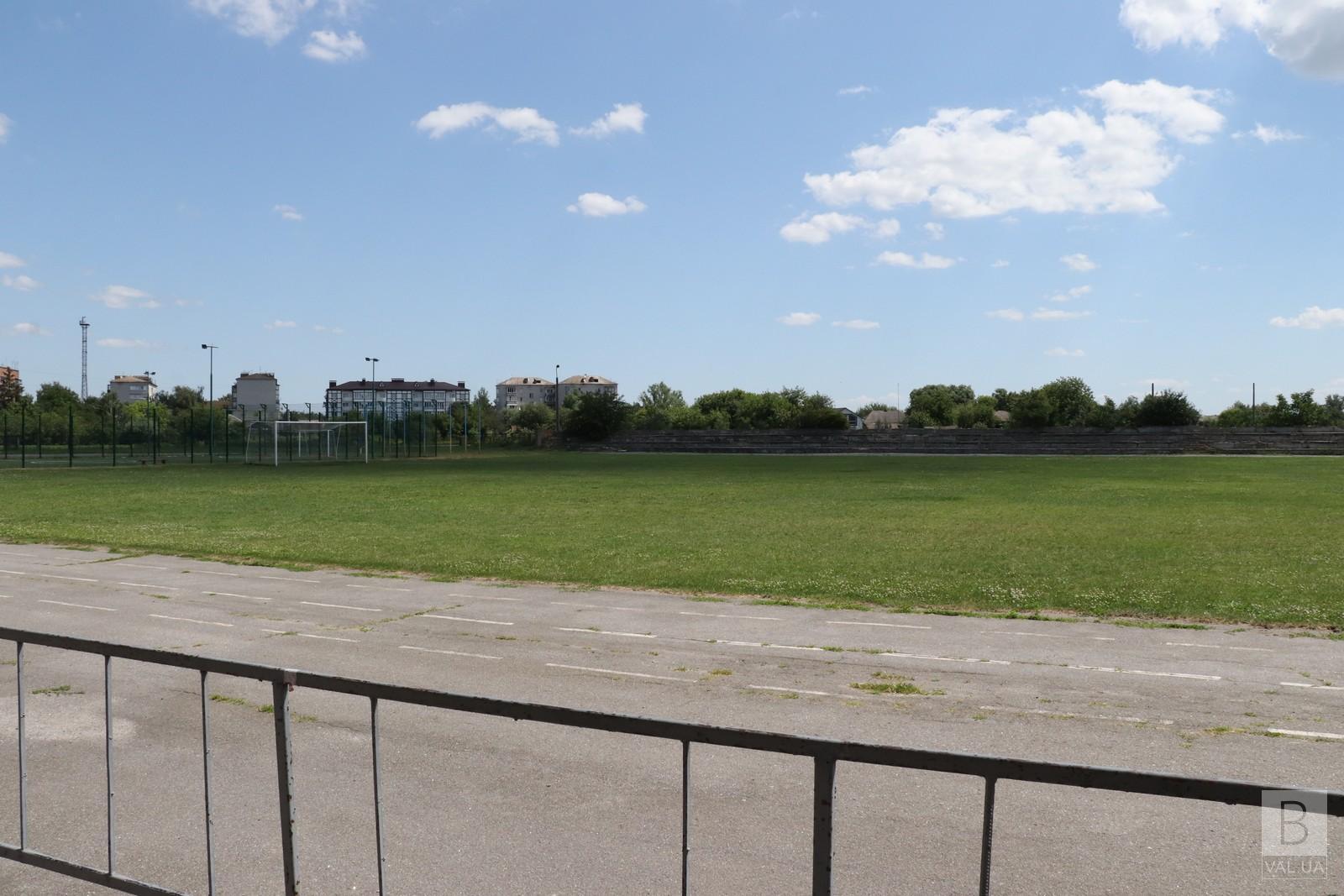 Вартість проєкту — 8,5 мільйонів гривень: незабаром у Носівці ремонтуватимуть стадіон