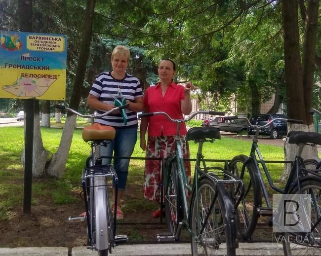 У Варві з'явилися соціальні велосипеди