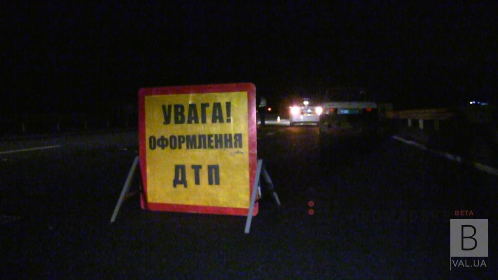 На трасі «Київ-Чернігів» потрійна ДТП: один водій травмувався