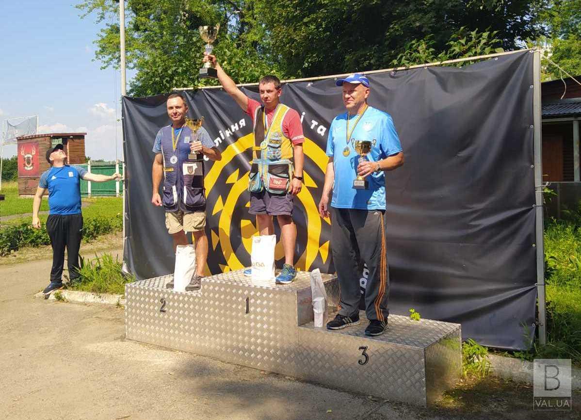 Чернігівець став «срібним» призером змагань зі стендової стрільби