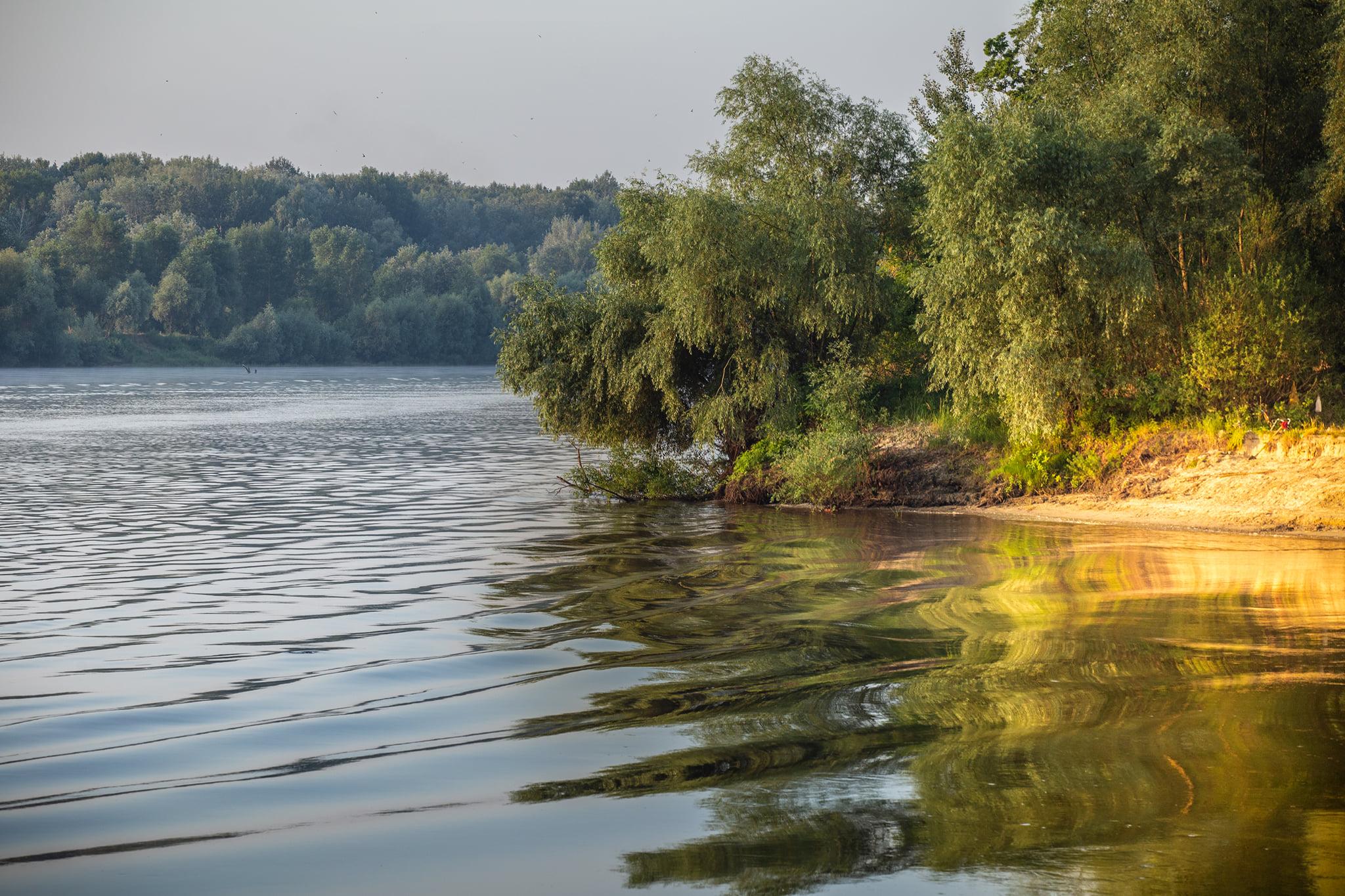 У Чернігові зафіксували рекордно гарячу воду в річці Десна