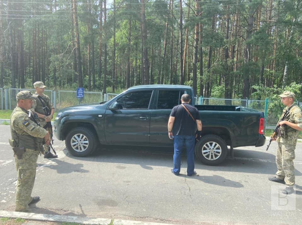 На Чернігівщині затримали підозрюваного, причетного до стрілянини у Луцьку