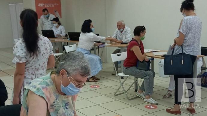 Як працюватимуть центри масової вакцинації у Чернігові на цьому тижні