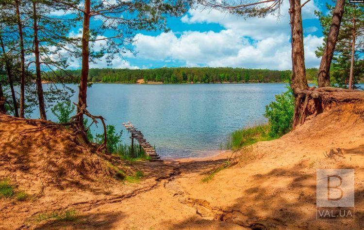 На Голубих озерах потонув 62-річний чоловік