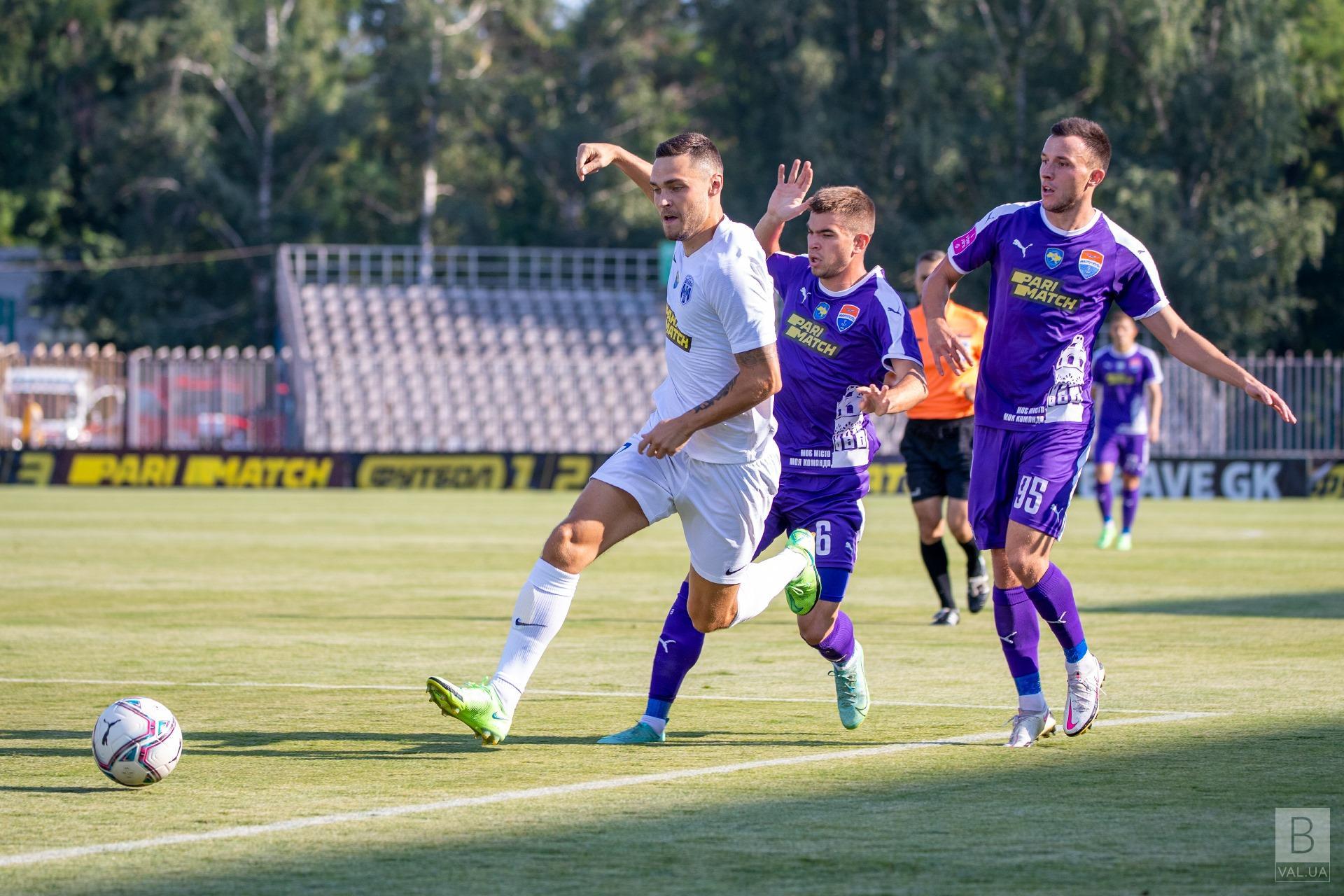 Чернігівська «Десна» перемогла «Маріуполь» на виїзді