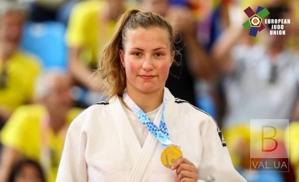 Ніжинка здобула срібну нагороду Кубку Європи з дзюдо