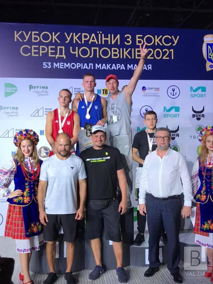 Чернігівські боксери стали третіми на Кубку України