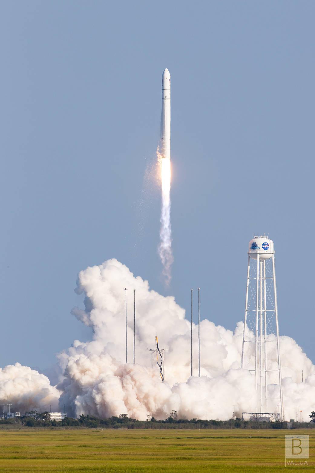 Американська ракета з двигуном, у виготовленні якого брало участь чернігівське підприємство, успішно долетіла до орбіти