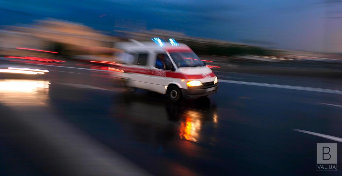 У потрійній ДТП в Ніжині травмувалися четверо людей