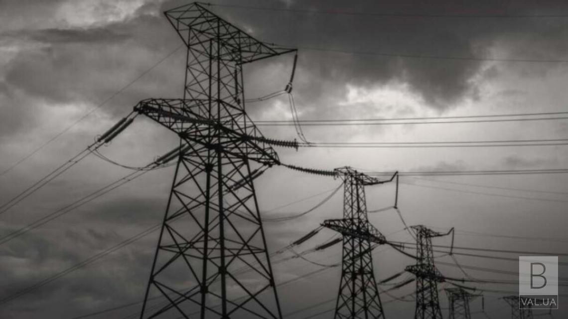 Негода залишила без електропостачання 9 сіл в Чернігівському районі