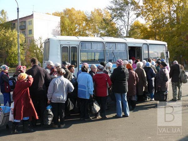У Чернігові хочуть скасувати 10 автобусних маршрутів